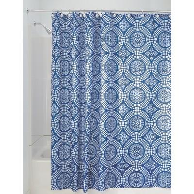 InterDesign Medallion Polyester Shower Curtain