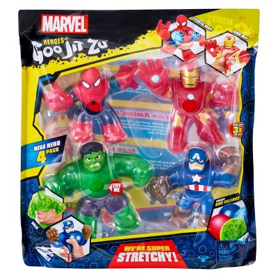 Heroes of Goo Jit Zu Marvel Hero 4-Pack
