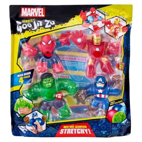 Heroes of Goo Jit Zu Marvel Hero 4-Pack - image 1 of 4