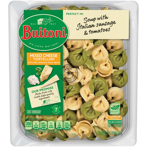 Buitoni All Natural Mixed Cheese Tortellini - 20oz - image 1 of 4