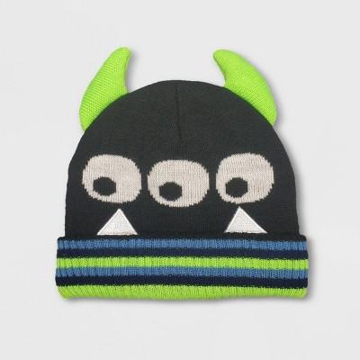 Baby Boys' Halloween Monster Beanie - Cat & Jack™ 12-24M