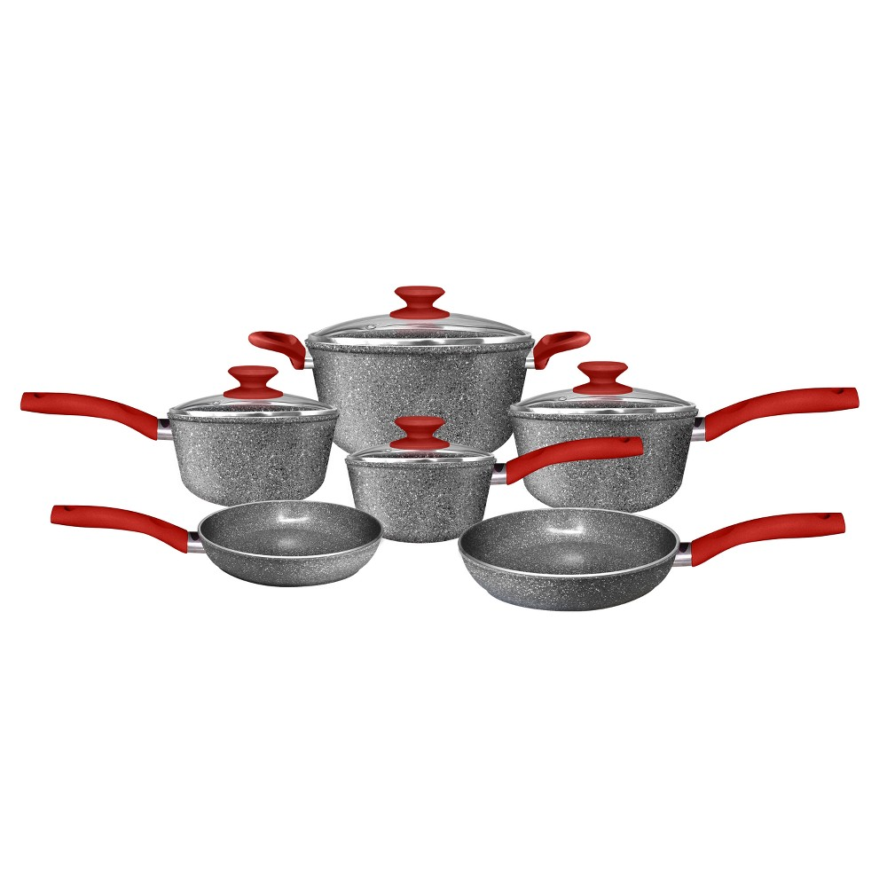 Image of CeraPan Marble Hill 10pc Set, Gray