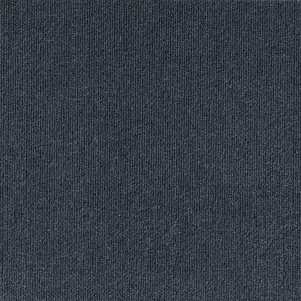 10pk Rib Extreme Carpet Tiles Blue