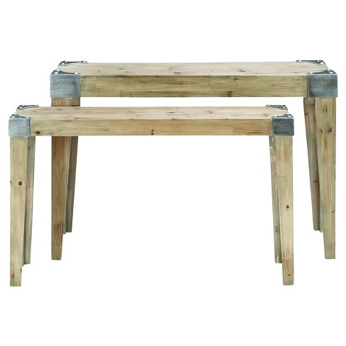 Console Table Wood - Benzara - image 1 of 1