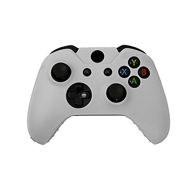 KMD Controller Silicone Grip Case Compatible with Microsoft Xbox One, White