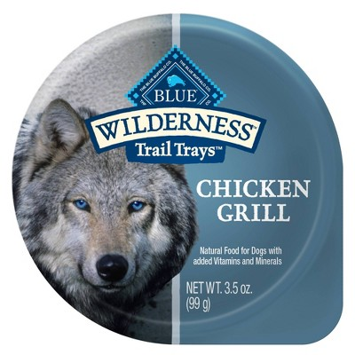 Blue Buffalo Wilderness 100% Grain-Free Wet Dog Food - 3.5oz