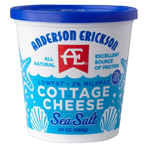 Anderson Erickson Low Fat Cottage Cheese with Sea Salt - 24oz - image 1 of 1