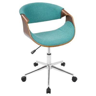 Curvo Mid-Century Modern Office Chair - LumiSource