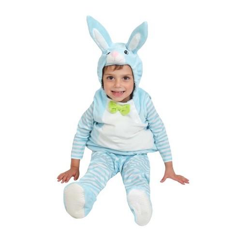 Baby Plush Bunny Costume Vest Blue - Spritz™ - image 1 of 1