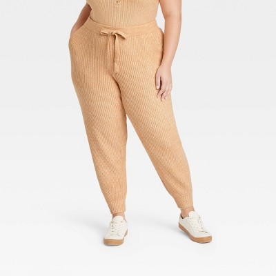 Women's Drawstring Sweater Jogger Pants - Universal Thread™