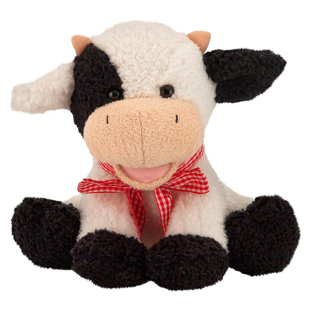 Melissa & Doug Meadow Medley Calf - Stuffed Animal Baby Cow With Moo Sound Effect