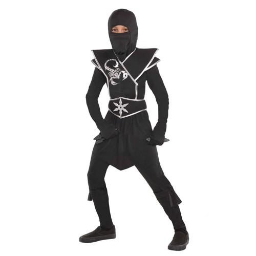 Halloween Kids Black Ops Ninja Halloween Costume XL Men S