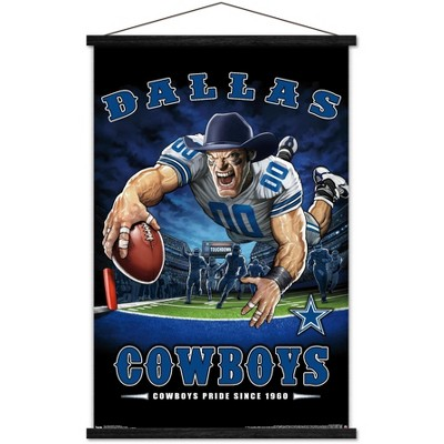 Trends International NFL Dallas Cowboys - End Zone 17 Framed Wall Poster Prints