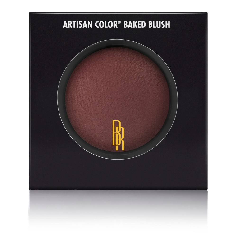 Image of Black Radiance Artisan Color Baked Blush Brick House 0.1oz