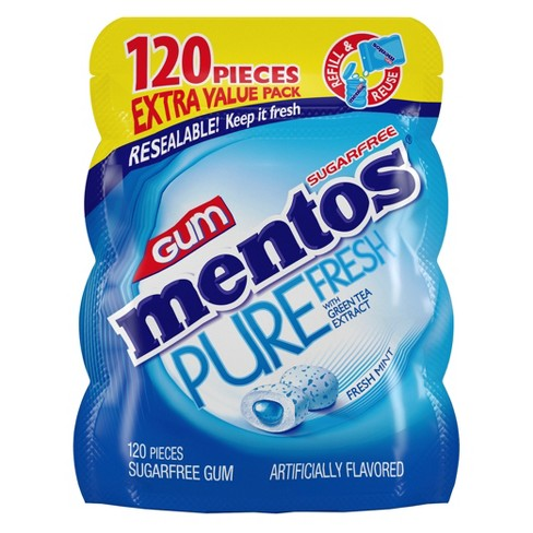 Mentos Fresh Mint Chewing Gum - 8.46oz - image 1 of 3