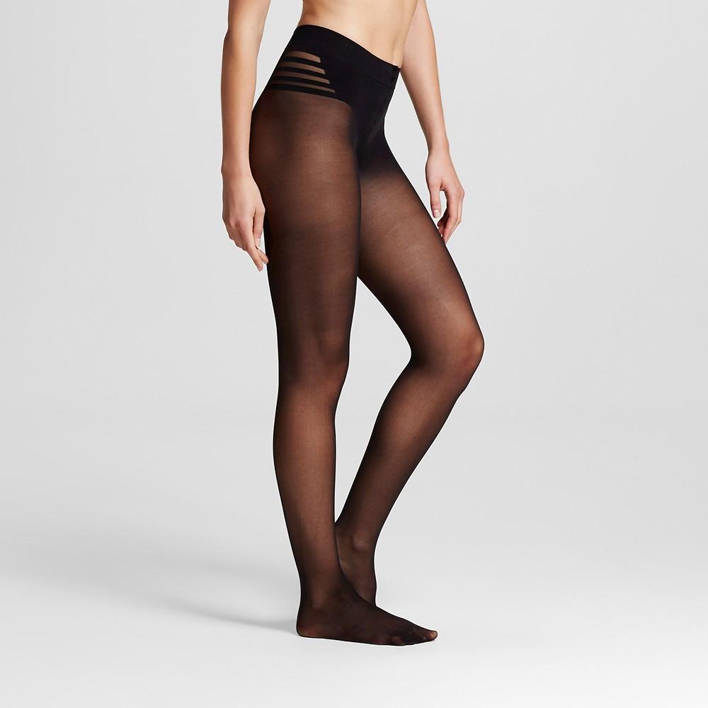 Maidenform Women's Body Shaper Pantyhose - Black XL