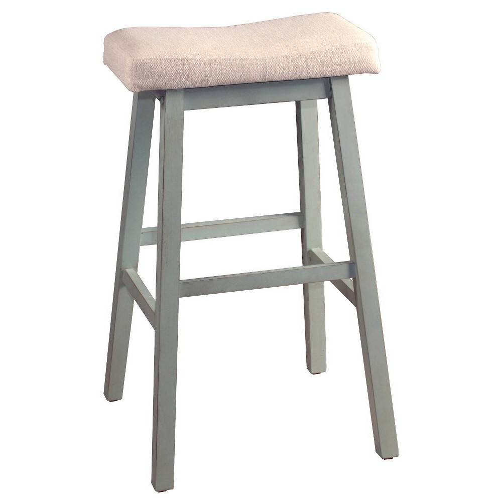 """Image of """"24"""""""" Moreno Backless NonSwivel Counter Stool Blue Gray - Hillsdale Furniture"""""""