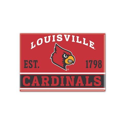 NCAA Louisville Cardinals Fridge Magnet - image 1 of 1