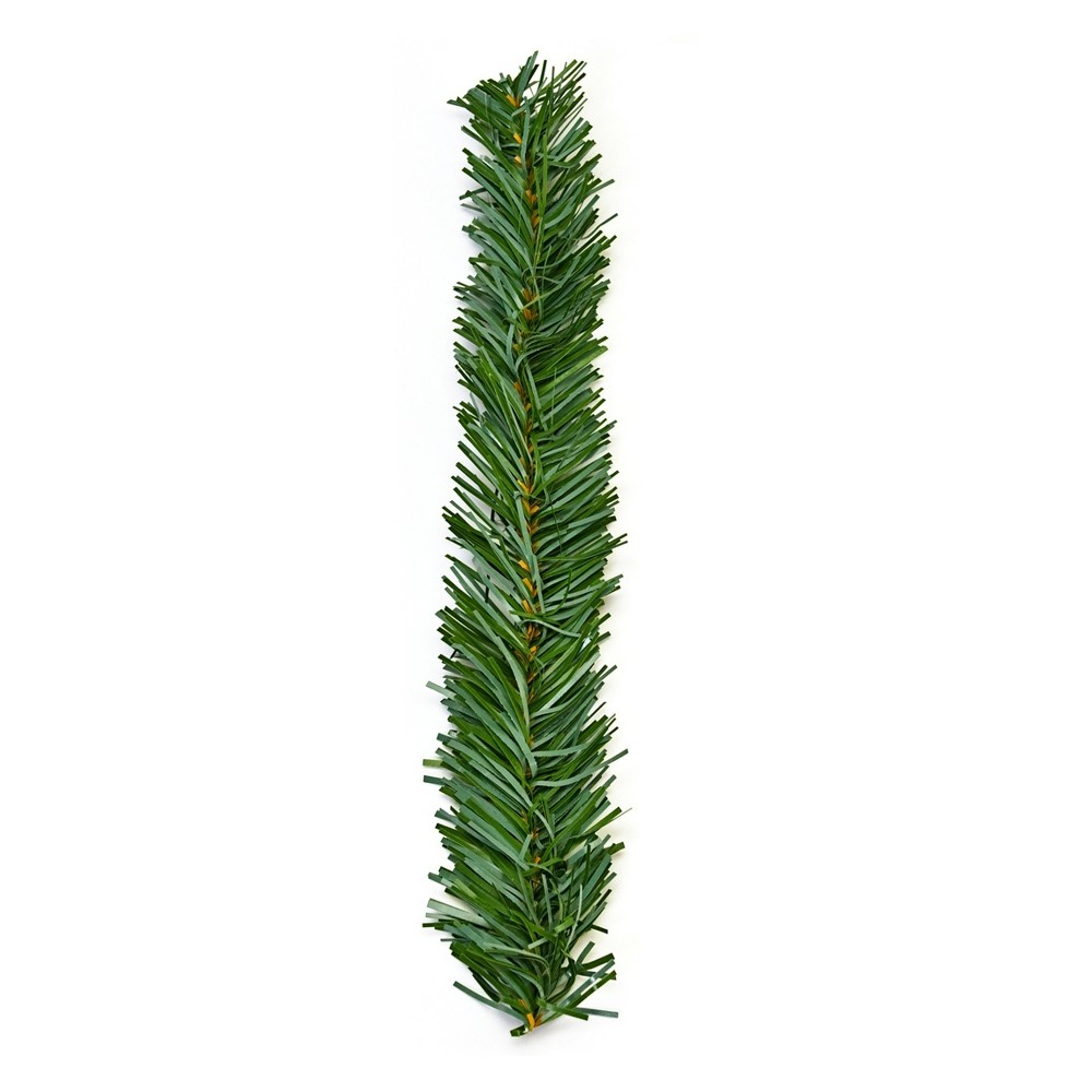 Image of Haute Decor 18in Christmas Garland Ties Noble Fir 20ct, Green