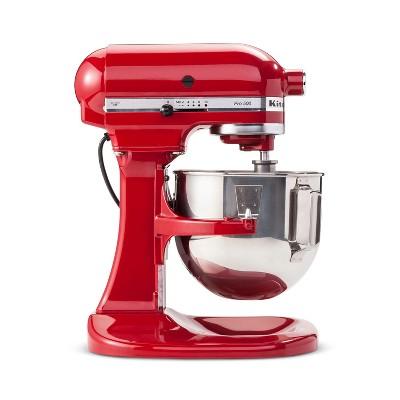 KitchenAid Refurbished Pro 500 Series 5qt Bowl-Lift Stand Mixer Empire Red - RKSM500ER