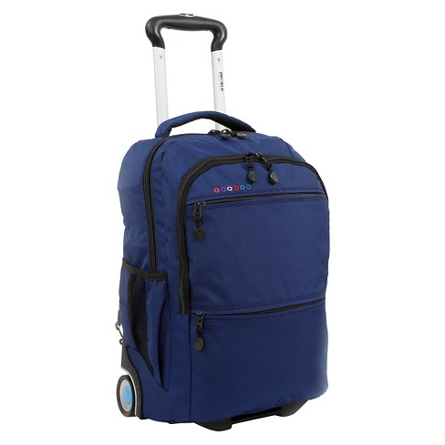 J World 20 Walkway Dual Handle Rolling Backpack