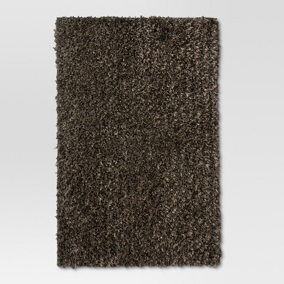 Gray Eyelash Shag Area Rug 5'x7' - Threshold™
