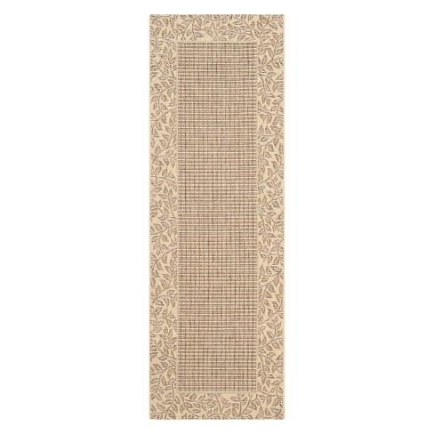 Courtyard Patio Rug - Brown / Natural - Safavieh® - image 1 of 3
