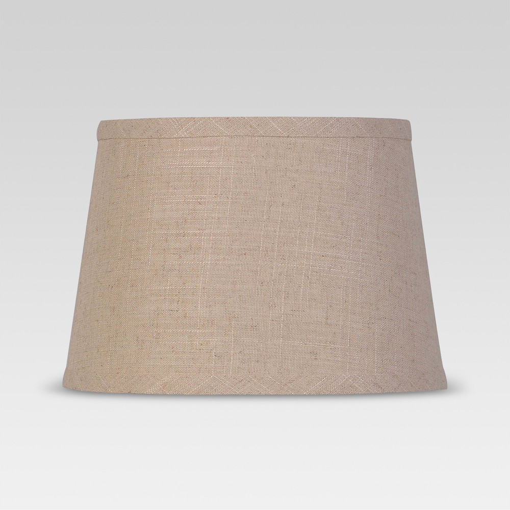 Textured Trim Small Lamp Shade Cream - Threshold, Brown