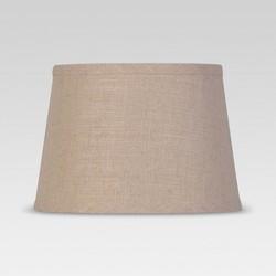 Textured Trim Lamp Shade Cream - Threshold™