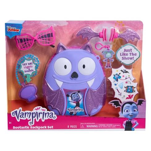 66332e7d299 Disney Junior Vampirina Bootastic Backpack Set   Target