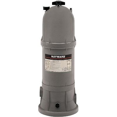 Hayward W3C17502 StarClear Plus 175 Square Feet Outdoor In Ground Swimming Pool Cartridge Filter with Rapid Release Air Valve and Single Locking Knob