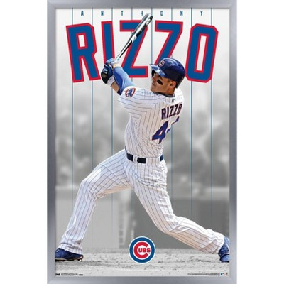 Trends International MLB Chicago Cubs - Anthony Rizzo 16 Framed Wall Poster Prints