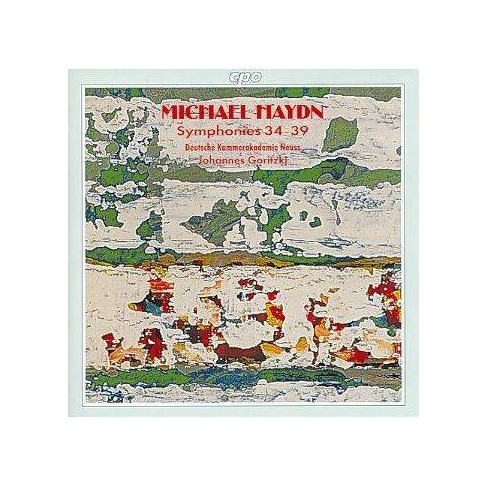 Goritzki - Haydn: Symphonies 34-39 (CD) - image 1 of 1