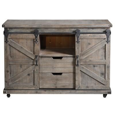 Presley Cabinet Gray - StyleCraft