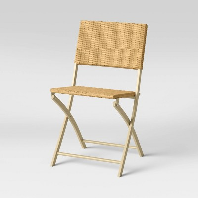 Monroe Wicker Patio Folding Accent Chair - Threshold™