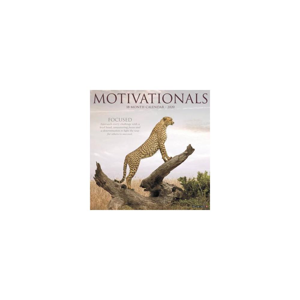 Motivationals 2020 Calendar - (Paperback)