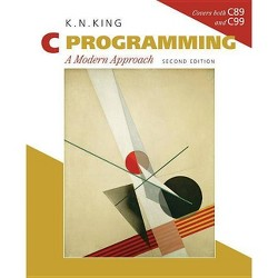 C Programming - 2 Edition by  K N King (Paperback)