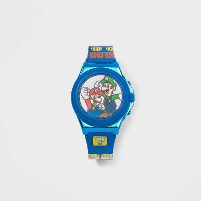 Boys' Nintendo Mario Watch - Blue