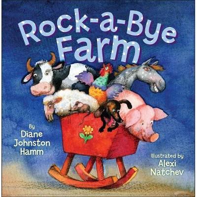 Rock-A-Bye Farm - by Diane Johnston Hamm (Board_book)
