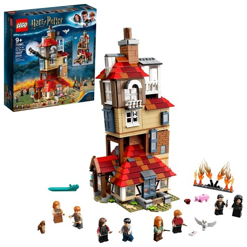 LEGO Harry Potter Attack on the Burrow Weasley's Family Dollhouse Building Toy for Kids 75980 - image 1 of 4