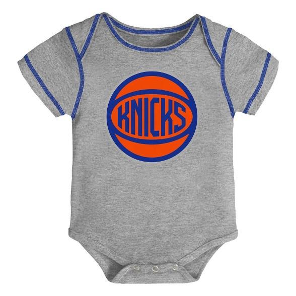 timeless design 56fd6 7ad7d NBA New York Knicks Baby Boys' Rookie Bodysuit Set 3pk