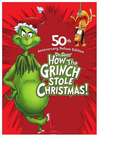 How The Grinch Stole Christmas: 50th Anniversary Deluxe Edition (Blu-ray) - image 1 of 1
