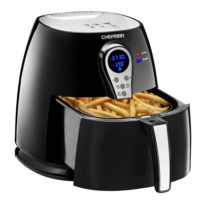 Chefman 2.6qt Digital Air Fryer With Rapid Air Technology