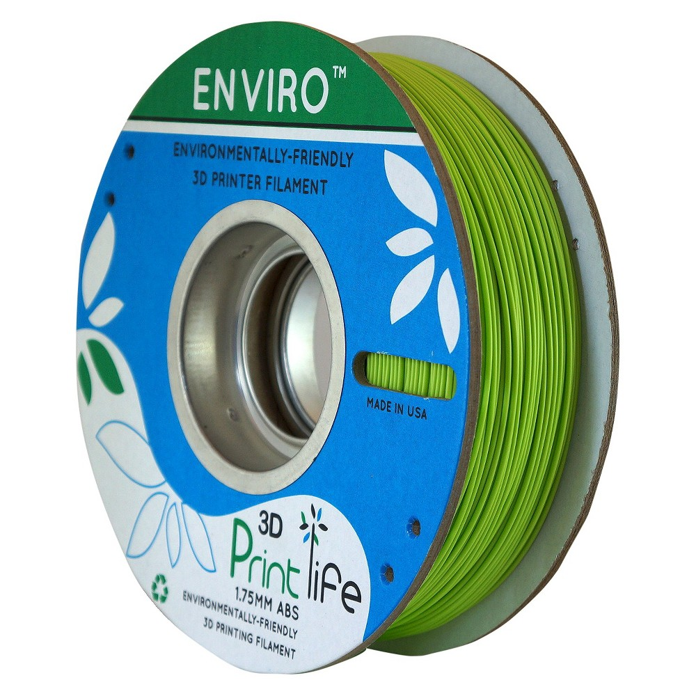 Image of 3D Printlife Enviro Eco-Friendly 1.75mm Premium Abs Filament - Light Green (8130553)