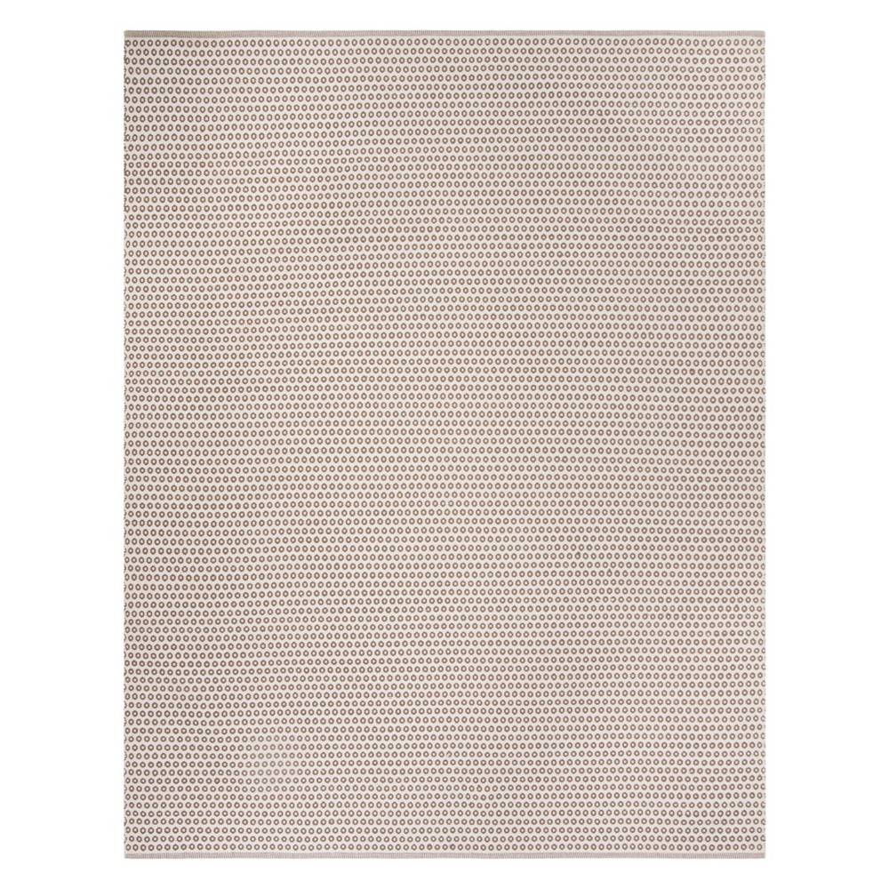 8'X10' Geometric Woven Area Rug Taupe/Ivory (Brown/Ivory) - Safavieh