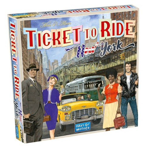 Ticket to Ride Express: New York City 1960 Board Game - image 1 of 4