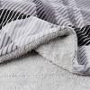 "60""x70"" Sherpa Fleece Plaid Throw Blanket - Yorkshire Home - image 2 of 4"