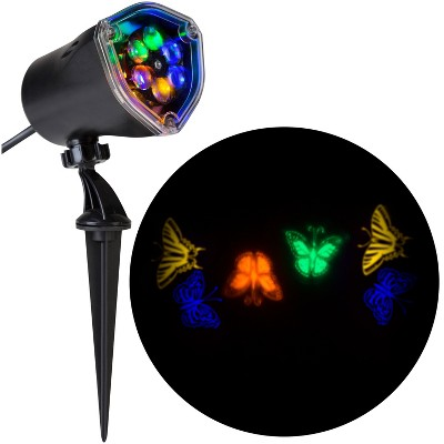 Gemmy Lightshow Projection Whirl a Motion Butterflies (Blue/Green/Orange,Yellow) , Multicolored