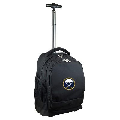 NHL Buffalo Sabres Mojo Wheeled Backpack - Black