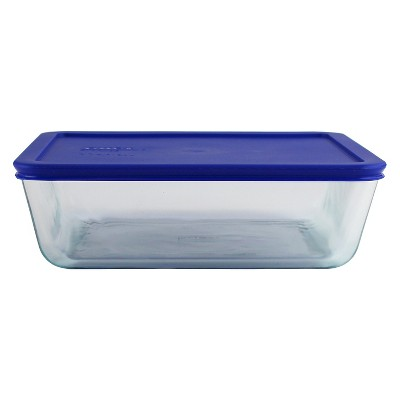 Pyrex 11 cup Food Storage Container Cadet Blue